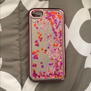 Accessories - iPhone 7/8 4.7 Glitter Liquid Case | Pink